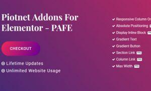 Piotnet Addons Pro For Elementor v6.0.0