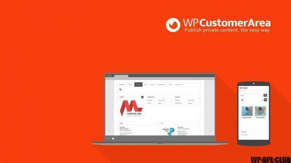 WP Customer Area - Terms of Service