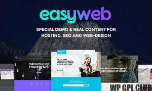 EasyWeb v.2.4.2 – WP Theme For Hosting, SEO and Web-design Agencies