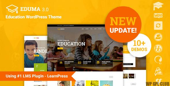 Eduma v.4.2.8.8 – Education WordPress Theme