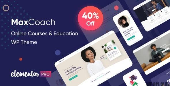 MaxCoach v.1.5.0 – Online Courses & Education WP Theme