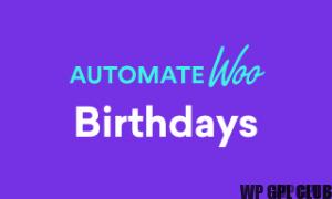 AutomateWoo – Birthdays v1.1.2