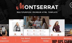 Monsterrat v1.2.1 - Minimal WordPress Portfolio Theme