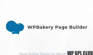 WP Bakery Page Builder v6.3.0 (Formerly Visual Composer)