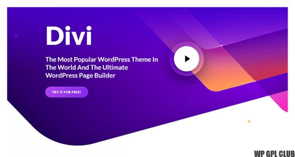 Divi - Premium WordPress Theme [With Original Licence Key]