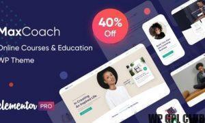 MaxCoach v.1.6.0 – Online Courses & Education WP Theme