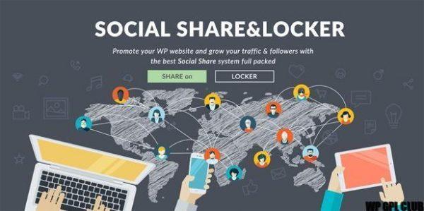 Social Share & Locker Pro WP Plugin v7.7