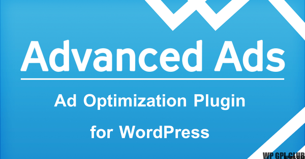 Advanced Ads Pro v2.8 (Included Free Plugin)