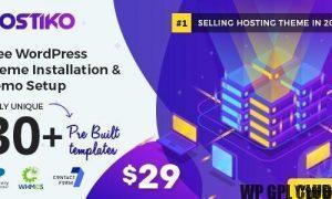 Hostiko v49.0.0 - WordPress WHMCS Hosting Theme